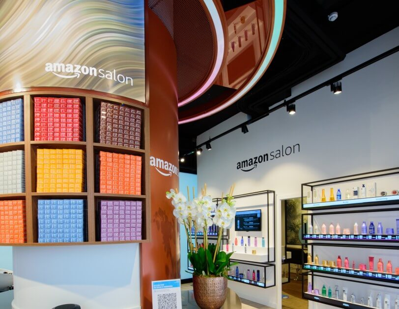 Amazon Salon in Spitalfields London
