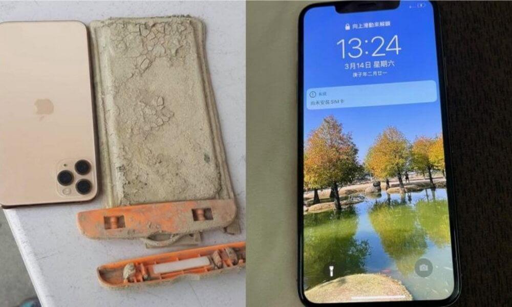 iphone 11 survives underwater