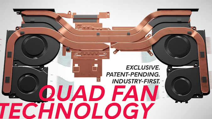 Alienware Quad Fan Technology For Laptops