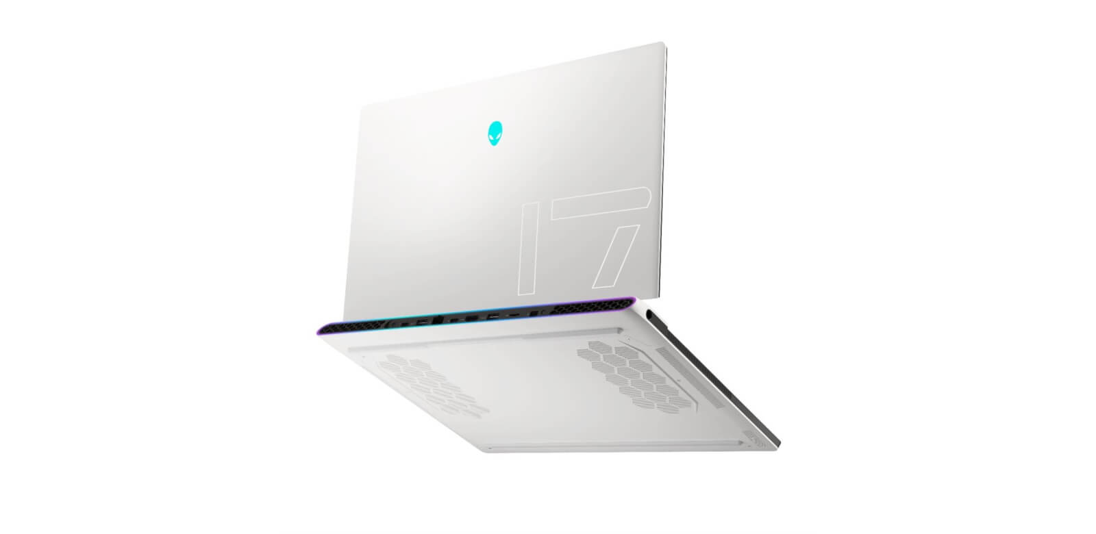alienware x series laptop quad fan design