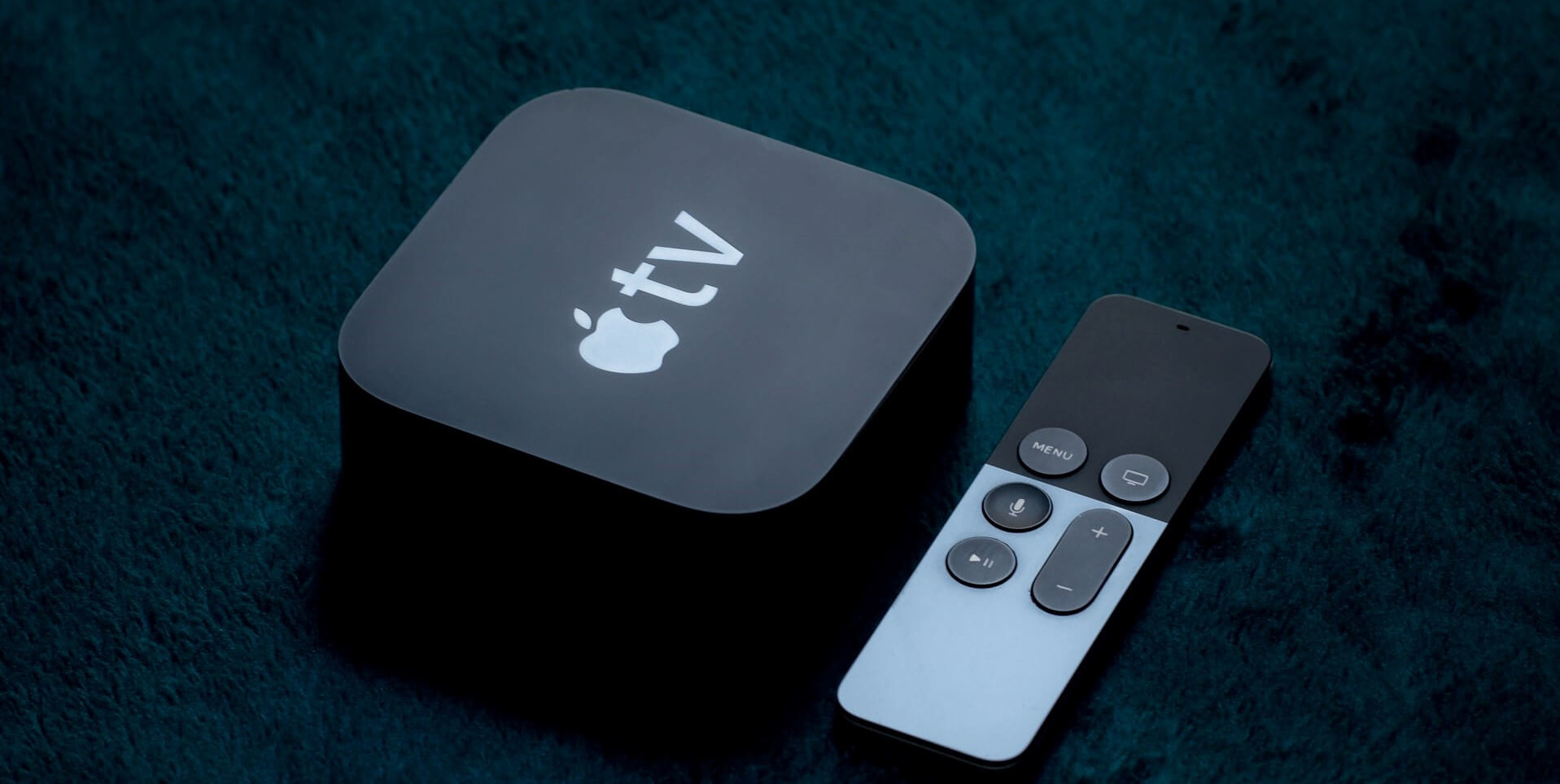 apple tv dongle and remote