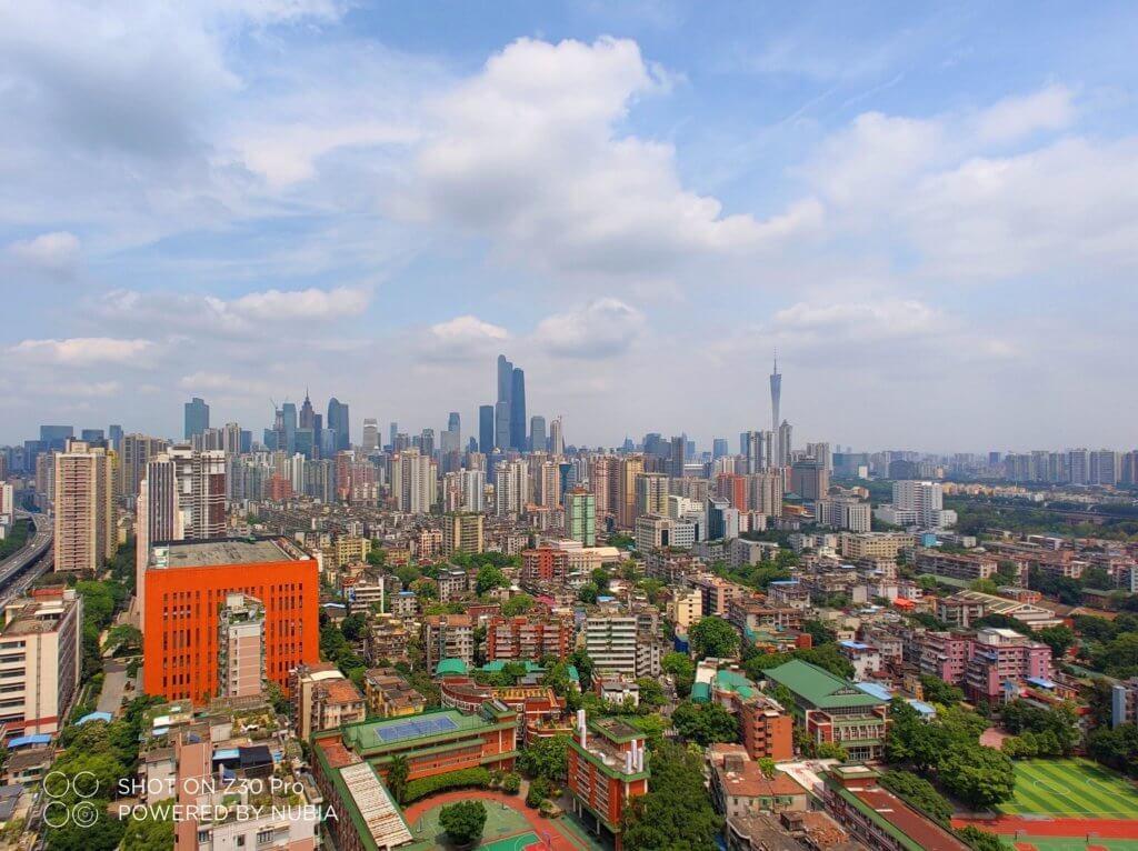 nubia z30 pro picture city landscape