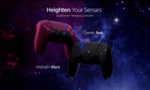 PlayStation 5 Sony Cosmic Red Midnight Black