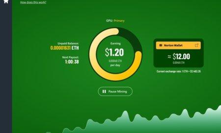 norton crypto mining and norton wallet