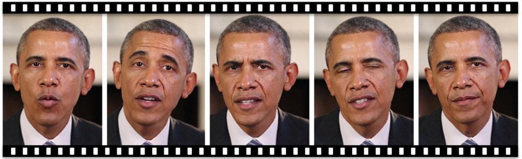 deepfake Obama lip syncing