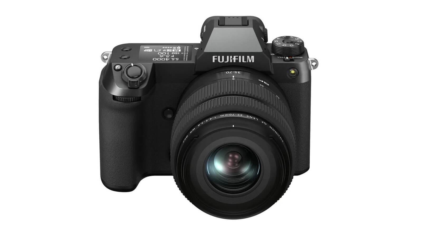Fujifilm GFX 50S II camera