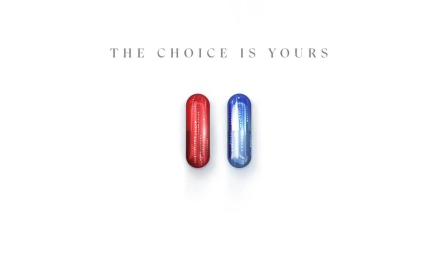 matrix 4 trailer blue pill red pill