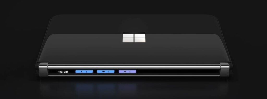 microsoft surface duo 2 hinge notifications