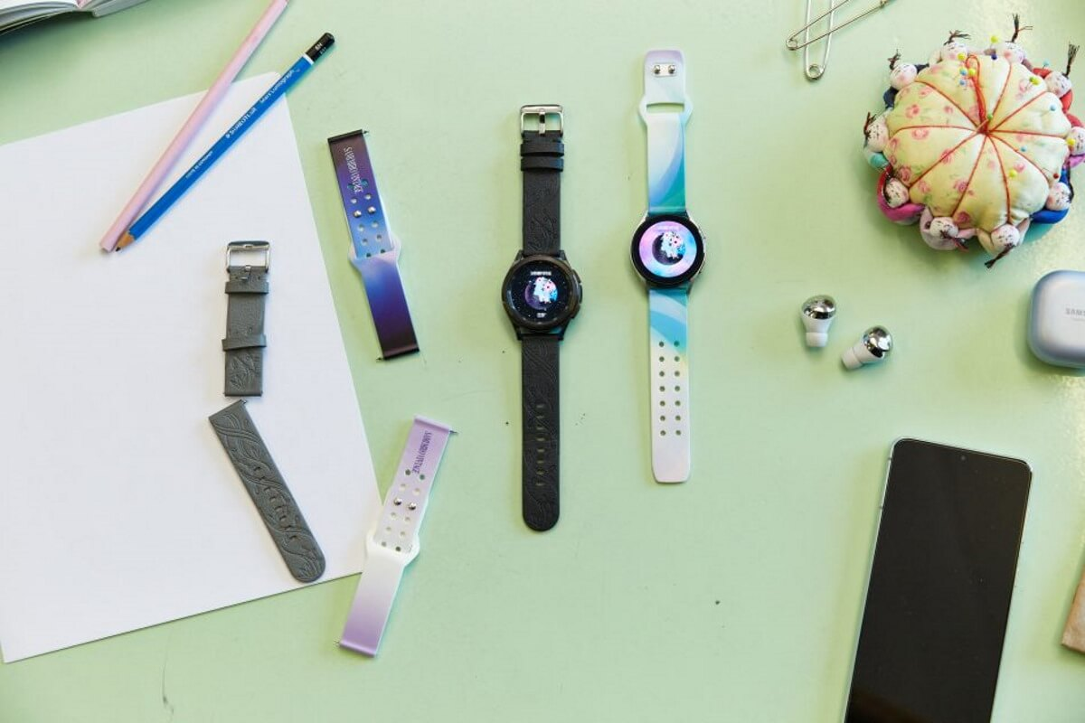 sami miro galaxy watch 4 sustainable bands colors